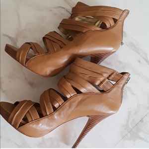 Charles David Tan High Heel - Size 10